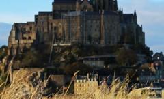 Mont Saint Michel automnal